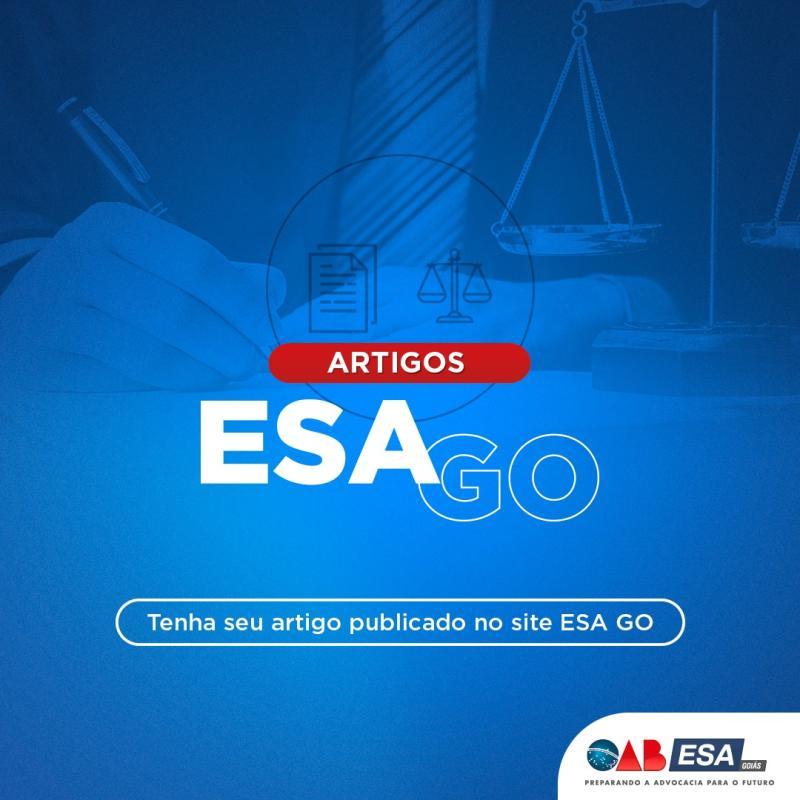 ESA-GO cria coluna digital de artigos jurídicos