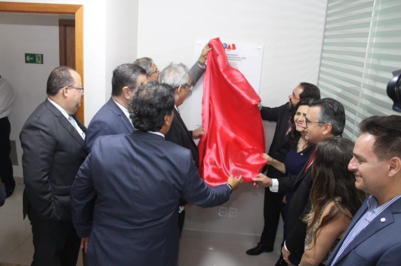 OAB-GO entrega salas modernas para advocacia no Edifício Lourenço Office e na Justiça Federal