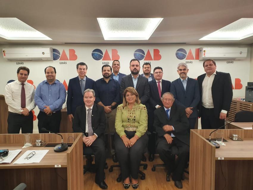 Presidente do TED debate mudanças no Regimento Interno da OAB com os 76 julgadores do órgão