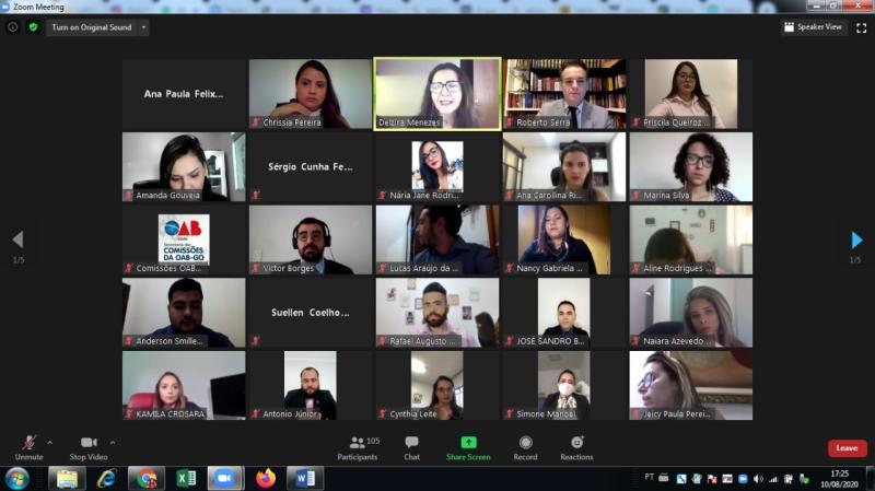 OAB-GO dá posse a 348 novos membros de comissões em solenidade virtual