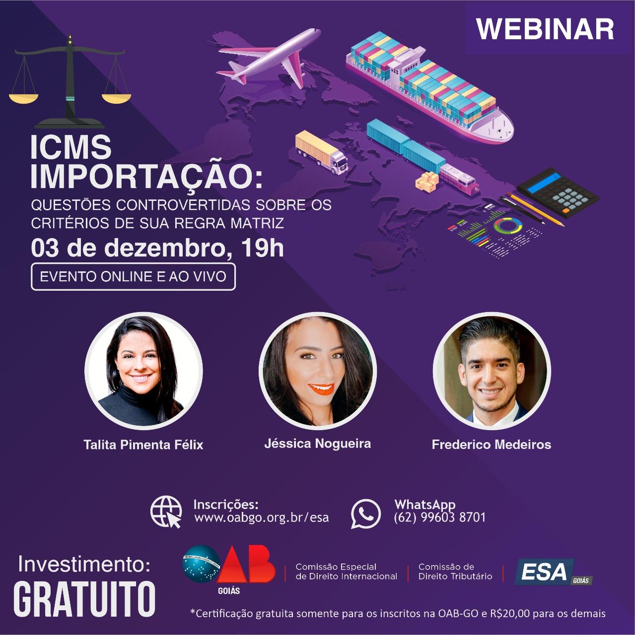 03.12 - Webinar - ICMS Importação