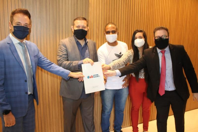OAB-GO, ESA e Cufa Goiás firmam parceria para lançar projeto Advocacia Humana