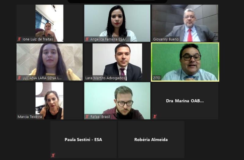 ESA-GO empossa diretor-adjunto e coordenadora de Valparaíso