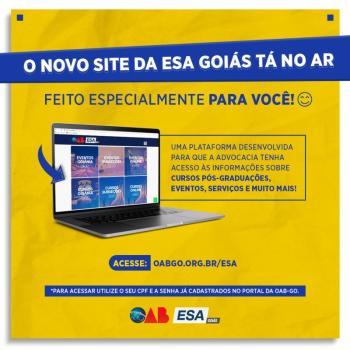 ESA lança novo portal e oferece melhor navegabilidade para advocacia