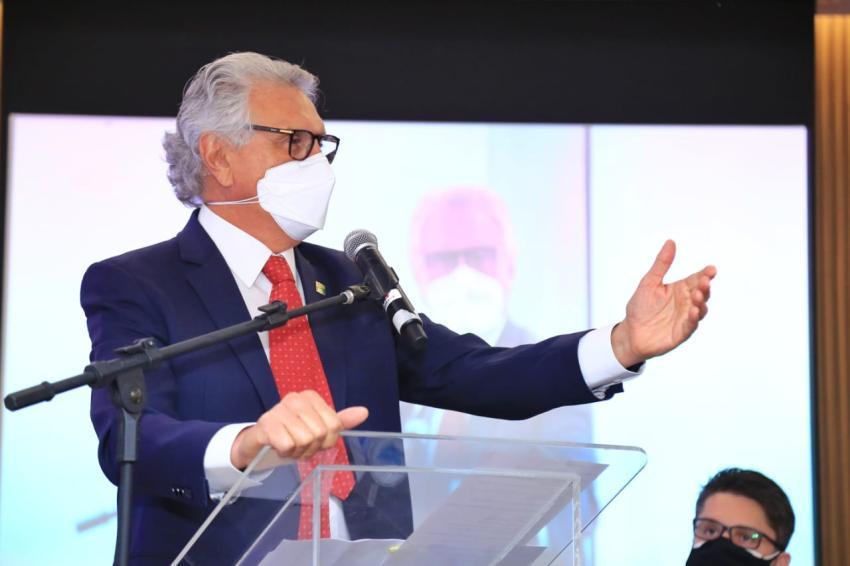 Em entrega do novo prédio-sede da OAB-GO, Caiado destaca obra como marco histórico da advocacia goiana