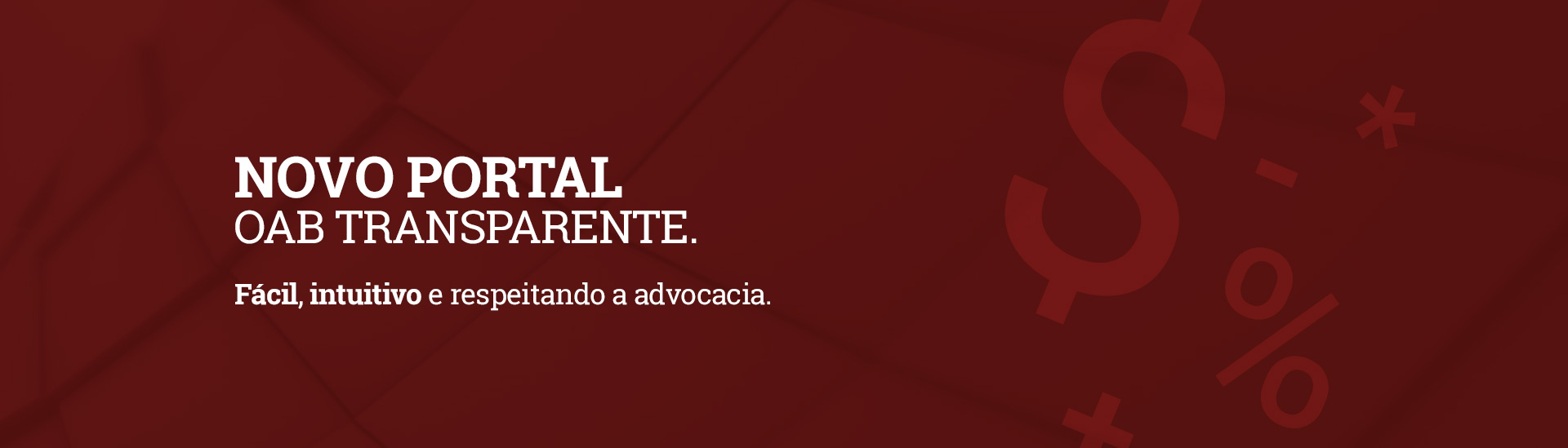 Portal da Transparência - OAB Goiás